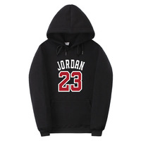 2017 Brand New Fashion JORDAN 23 Mens Women Sportswear Print Men Hoodies Pullover Hip Hop Mens