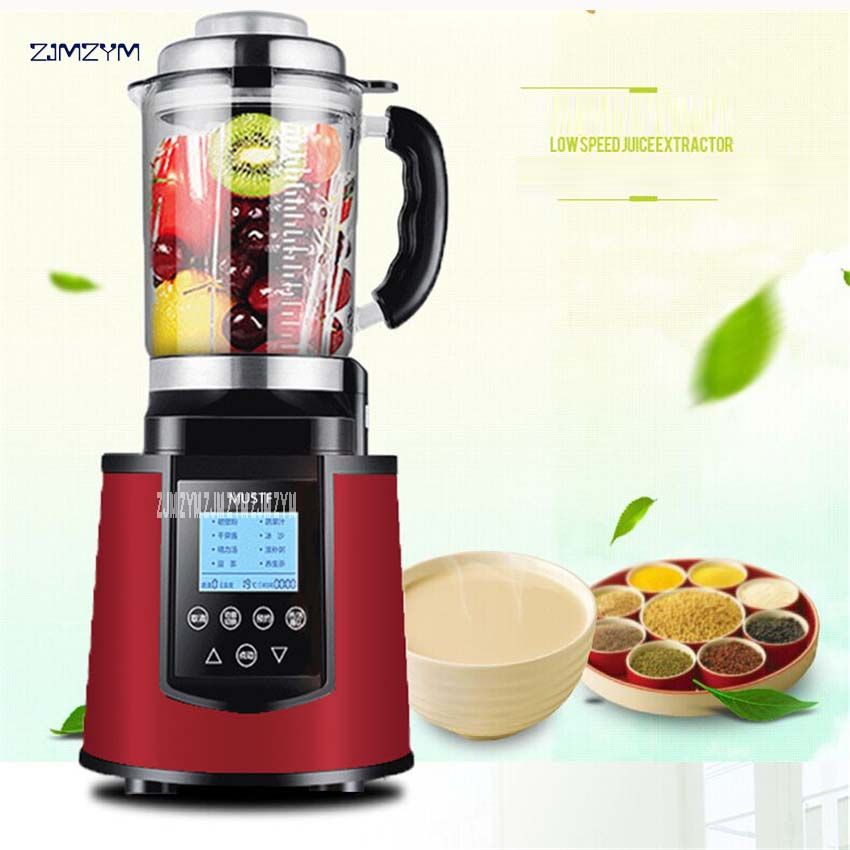 2200 W Heavy Duty Commercial Blender Mixer 2L High Power Potato Food Machine Robot Ice Blender Bar Fruit Blender Electric 6800 2l heavy duty commercial grade juicer fruit blender mixer bpa 3 speed 2200w professional smoothies food mixer fruit processor