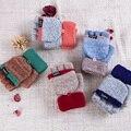 Mulheres Luvas Mitten Mão Mais Quente Luvas de Inverno Sem Dedos Luvas Gants Femme Knit Patchwork Feminina Guantes dedos Mujer sin A3180