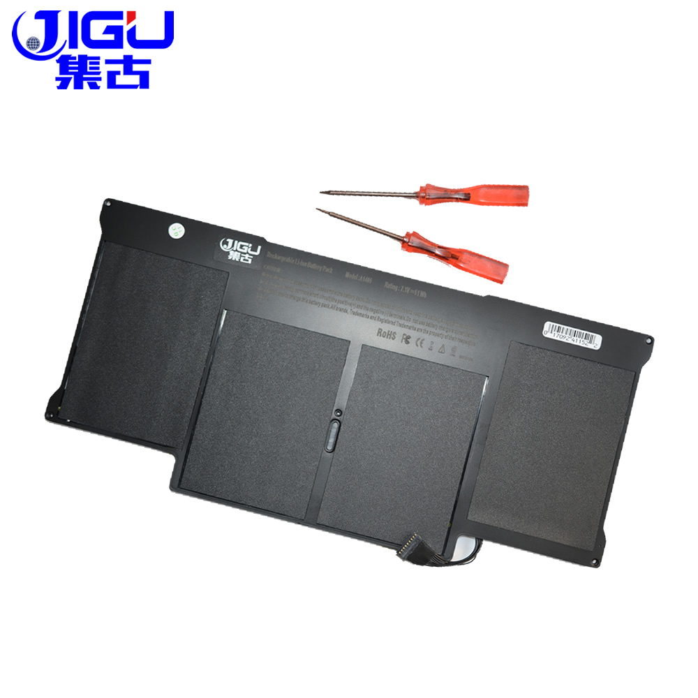 все цены на JIGU A1369 A1405 A1377 Laptop Battery For Apple MacBook Air MacBook Air 13