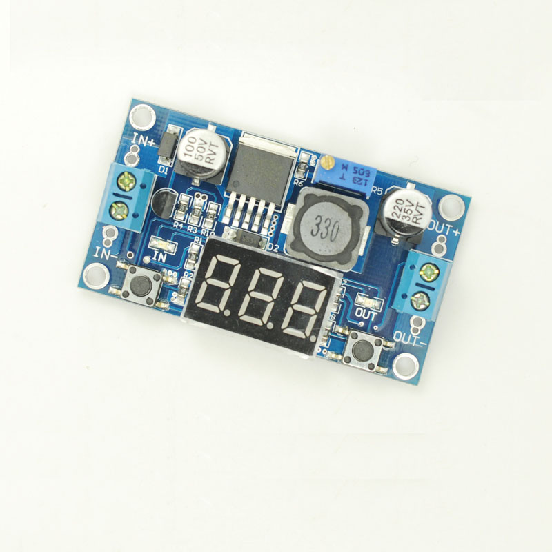 Lm2596 adjustable buck module dc-dc DC 12V to 5V driving recorder power supply