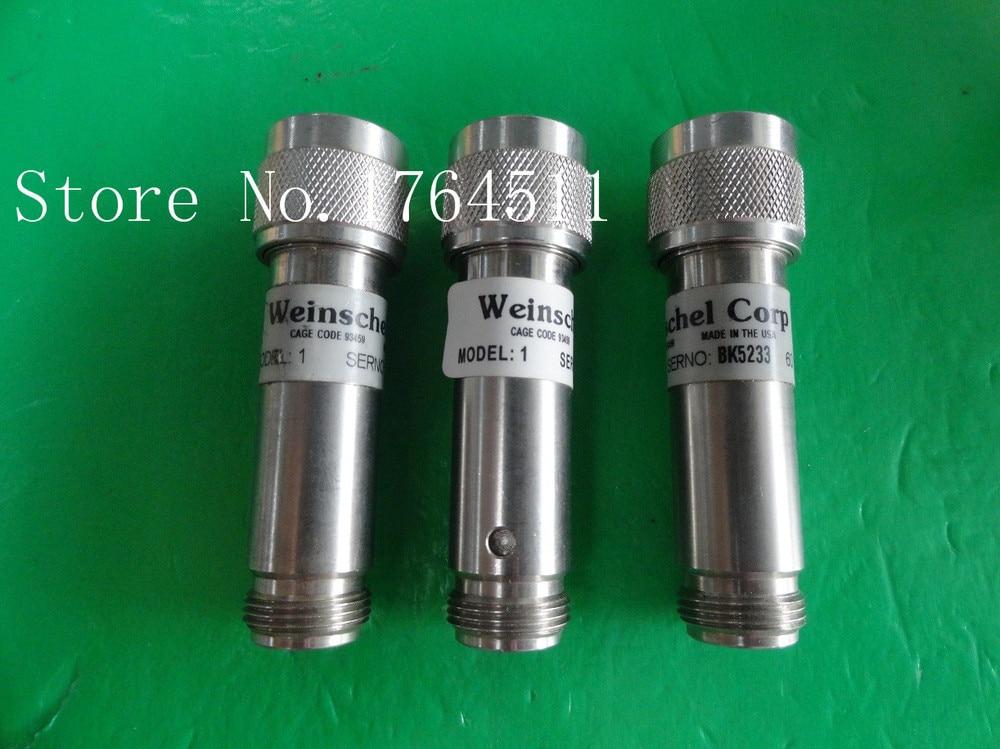 [BELLA] WEINSCHEL 1-60 DC-12.4GHz Att:60dB P:5W N coaxial fixed attenuator