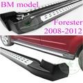"""Боковой панели шаг в сторону подножку для Subaru Forester 2008 2009 2010 2011 2012 """", БМ"""", ISO качество, отлично алюминиевого сплава"""