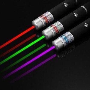 Image 2 - 5 mW مؤشر ليزر عالية الطاقة 650nm الأخضر 532nm الأزرق البنفسجي 405nm مؤشر ليزر القلم قابل للتعديل حرق مباراة دون البطارية