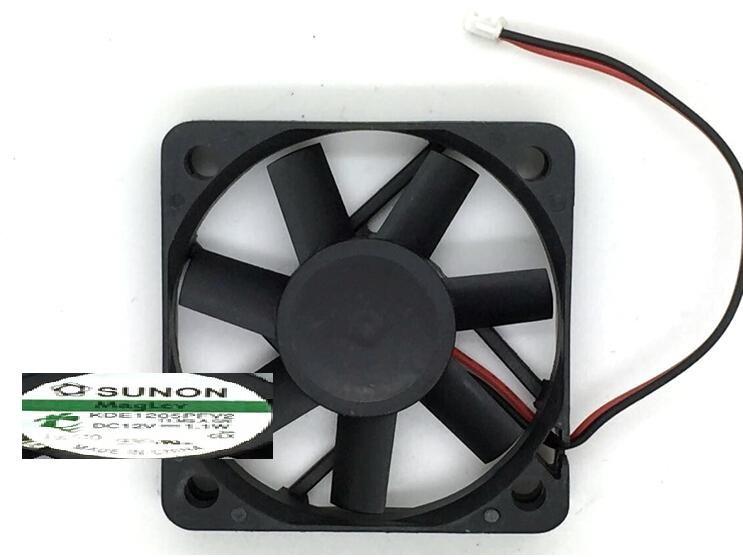 Wholesale: SUNON 50*50*10 5CM 12V1.1W KDE15PFV2 2 line of Maglev fan