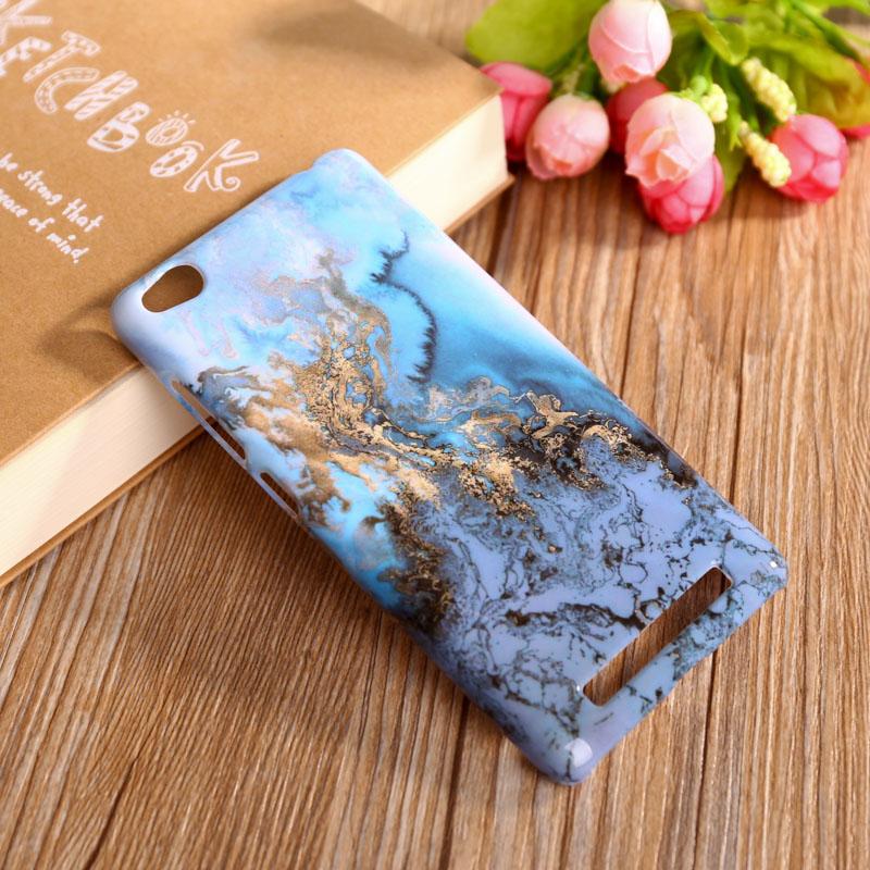 Teléfono case para xiaomi redmi 3 redmi3 5 ''hongmi 3 hongmi3 contraportada del teléfono móvil accesorios de mármol piedra smartphone case Shell