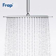 Frap ใหม่ห้องน้ำหัวฝักบัวสแควร์ 304 สแตนเลสขนาดใหญ่ Rainfall Overhead Shower HEAD Bath Rain Shower F28 3/ g28