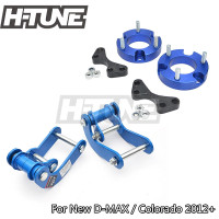 H TUNE 4x4 Accesorios 25mm Front Spacer and Rear Comfort G Shackles Lift Up Kits 4WD For New D max / Colorado 2012+