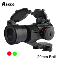 Hot Sale Huntinting 1x30 red and green dot sight optical scope with 20mm Rails for hunting riflescope Free Shipping