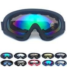 Headbone Ski Snowboard Goggles Moto Sunglasses Eyewear Anti-UV Windproof Sports Equipment Professional Winter