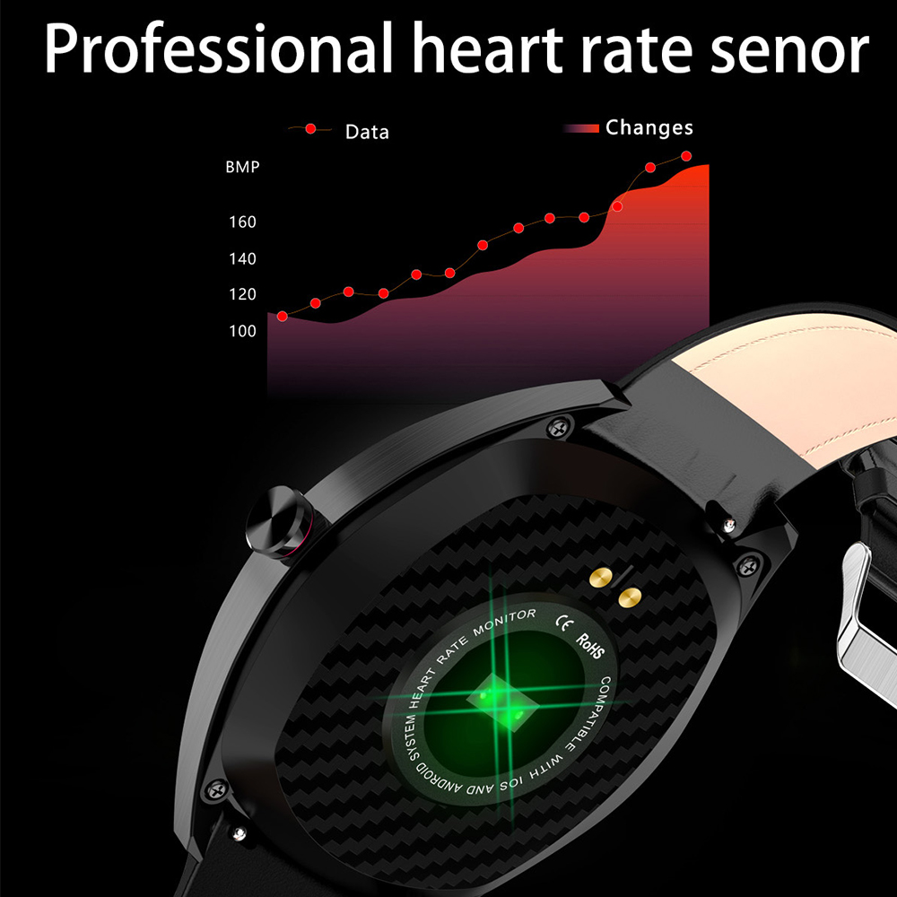 "Image 3 - Virtoba K7 1.3"" Smart Watch Men IP68 Bluetooth Blood Oxygen Heart Rate Monitor Fitness Tracker Sports Smartwatch Android iOS-in Smart Watches from Consumer Electronics"