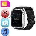 ZW19 2 Г Умный Наручные Часы Поддержка Sim-карты Спорт Smartwatch электронные Часы MP3 Камера FM Радио Для iOS Android Samsung Huawei