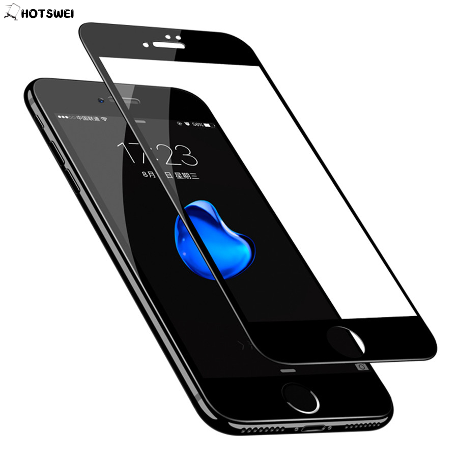 Full Cover Tempered Glass for iPhone 6 6S 7 8 plus 5S