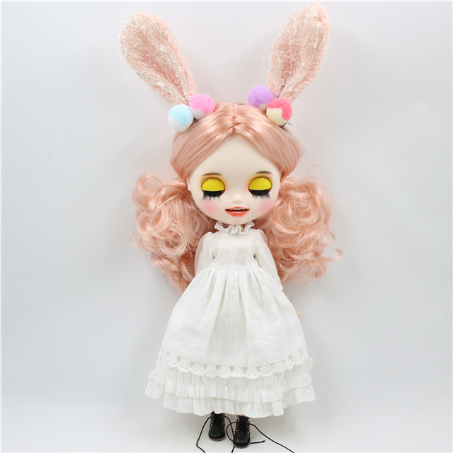 Jessica – Premium Custom Blythe Doll with Smiling Face 1