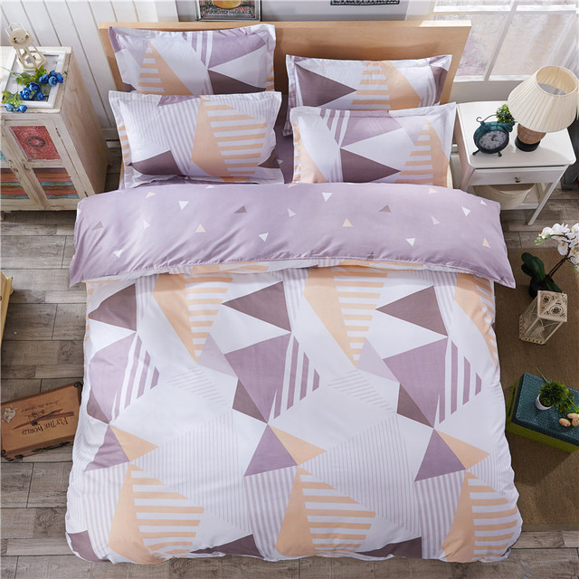 High Quality Home Textiles Bedding Simple Geometric Design Style
