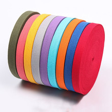 New 3/4 (20mm) 45yards 100% Cotton Belt Herringbone Tape Package Ribbon 26 Colours For Handmade Diy Cloth Accessories