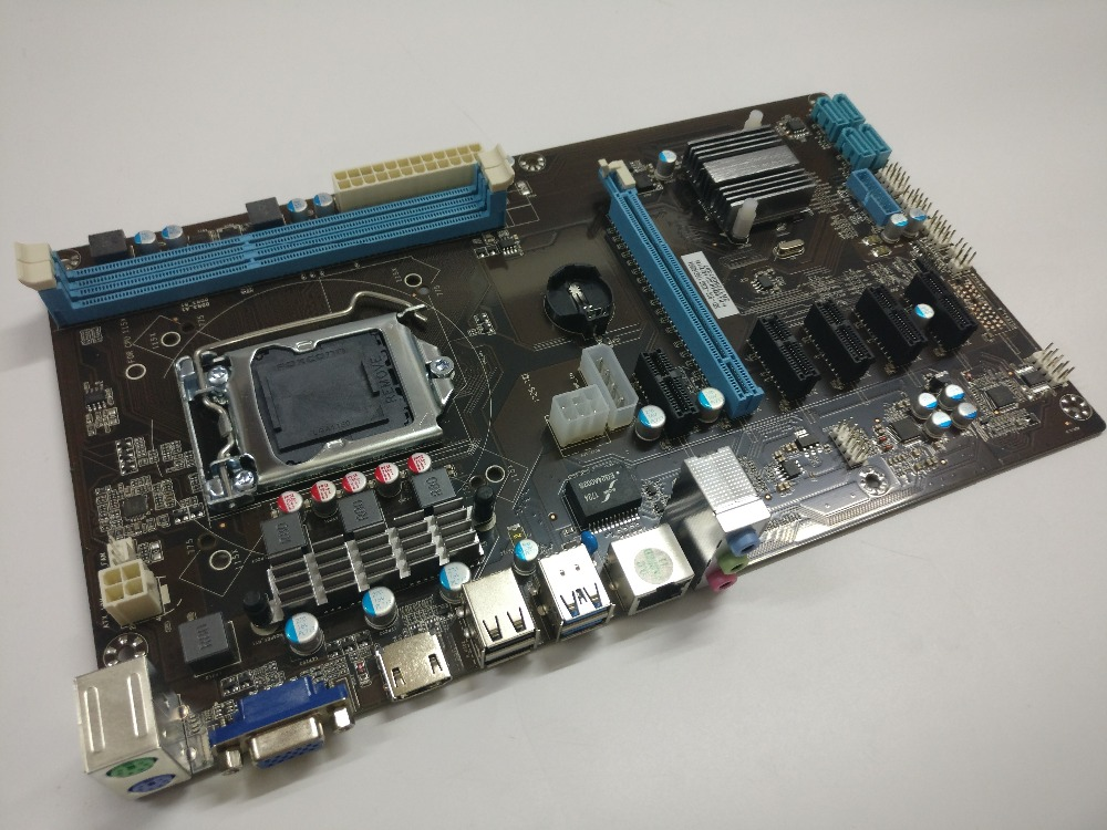 ETH miner motherboard new support 6 graphics card instead TB85 TB250 motherboard suitable for ETH miner RX470 RX480 RX570 RX580. 4