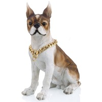 Dog Chain Cut Cuban Link 26/28inch 13mm Heavy Gold 316L Stainless Steel Puppy Training Choker Collar For Pet Dropshipping LDC11
