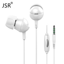 Heavy Bass Langsdom IN3 Original Brand Stereo Earphone Noice Canceling Headset with Microphone for PC DJ  Mobile Phone Xiaomi