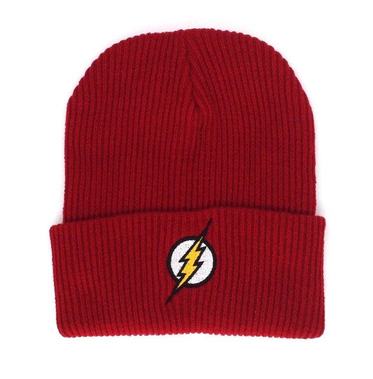 5a5ca5d7038 Aliexpress.com   Buy Flash Winter Warm Beanie Hat 2018 New Superman Hero  Soft Hip Hop Caps Warm Knitted hats   Caps Men Women Teenager LA Cap Beanies  from ...