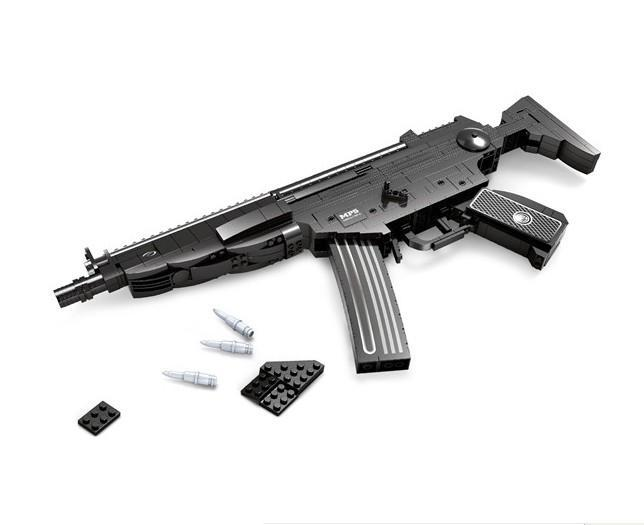NEW Classic toys weapon AK 47 Gun Model 1:1 Toys Building Blocks Sets 617pcs Educational DIY Assemblage Bricks Toy