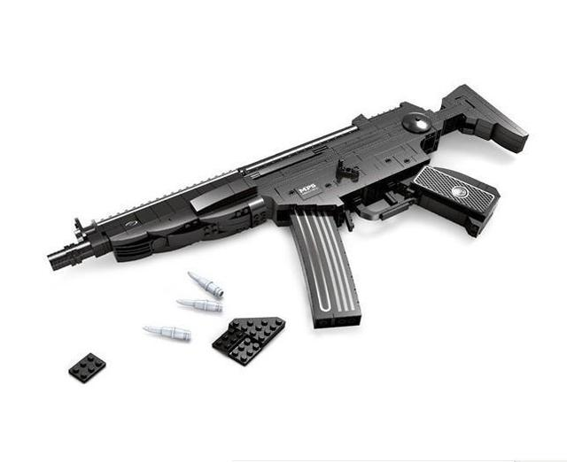 NEW Classic toys weapon AK 47 Gun Model 1:1 Toys Building Blocks Sets 617pcs Educational DIY Assemblage Bricks Toy