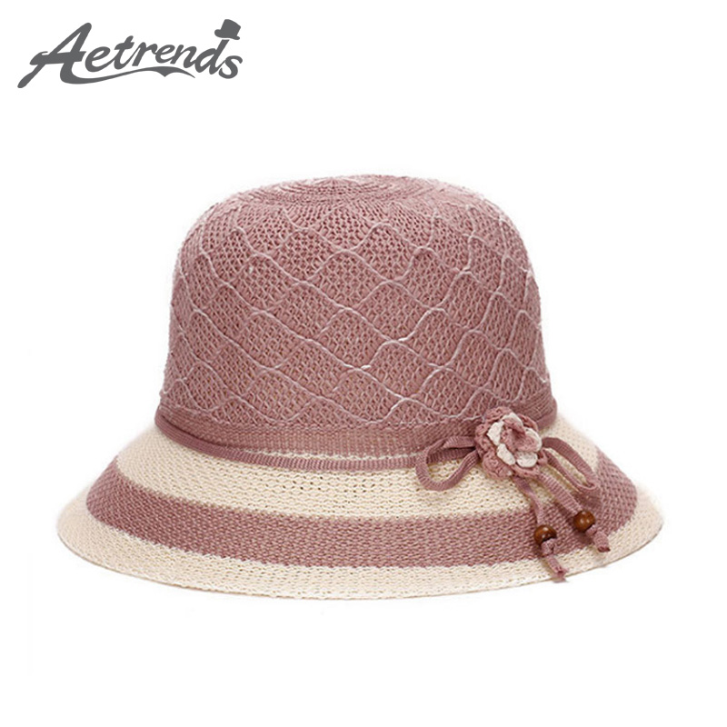 aetrends vintage straw fedora hat women casual sunshade