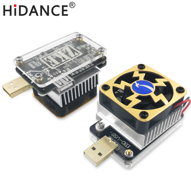 Computer software online USB tester DC discharge Load resistor QC2.0/3.0 MTK-PE Trigger Voltage Current Monitor Battery Capacity