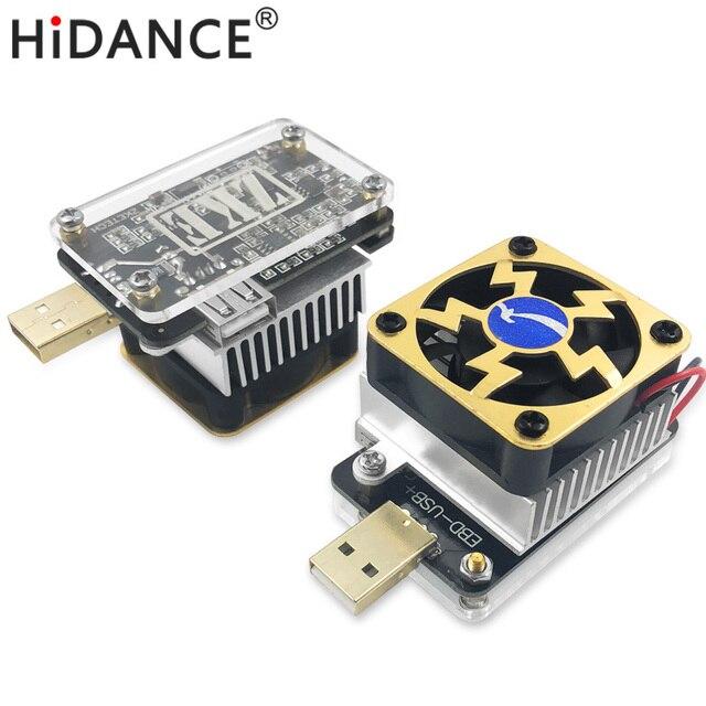 Computer software online USB tester DC discharge Load resistor QC2.0 ...