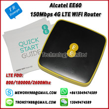 150Mbps 4G Pocket WiFi Hotspot With Sim Card Slot Support LTE FDD B3 B7 B20 With 5150mAh Battery For Alcatel EE60(China)