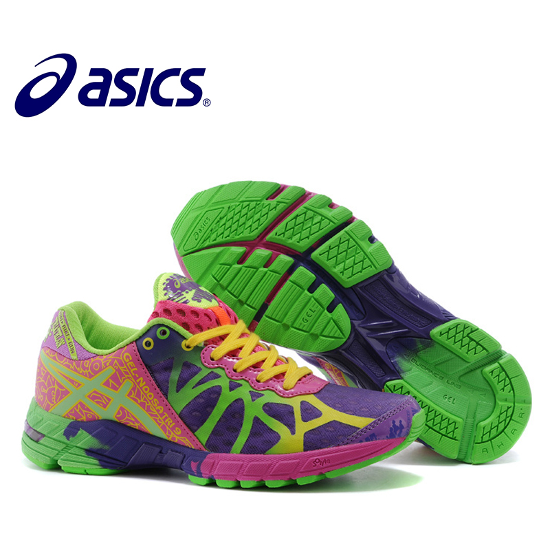 Original Asics Gel-Noosa TRI9 Sneakers Woman's Shoes Breathable Running Shoes For Women Outdoor Tennis Asics Sock Sneaker Women asics tiger gel lyte iii lc