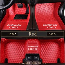 For Tesla Model 3 2012 -2019 All Models Custom Waterproof Floor Mats Car Floor Mats For Custom Auto Foot Pads Automobile Carpet custom car floor mats for nissan qashqai j11 according to car model four seasons artificial leather carpet mats protect car mats