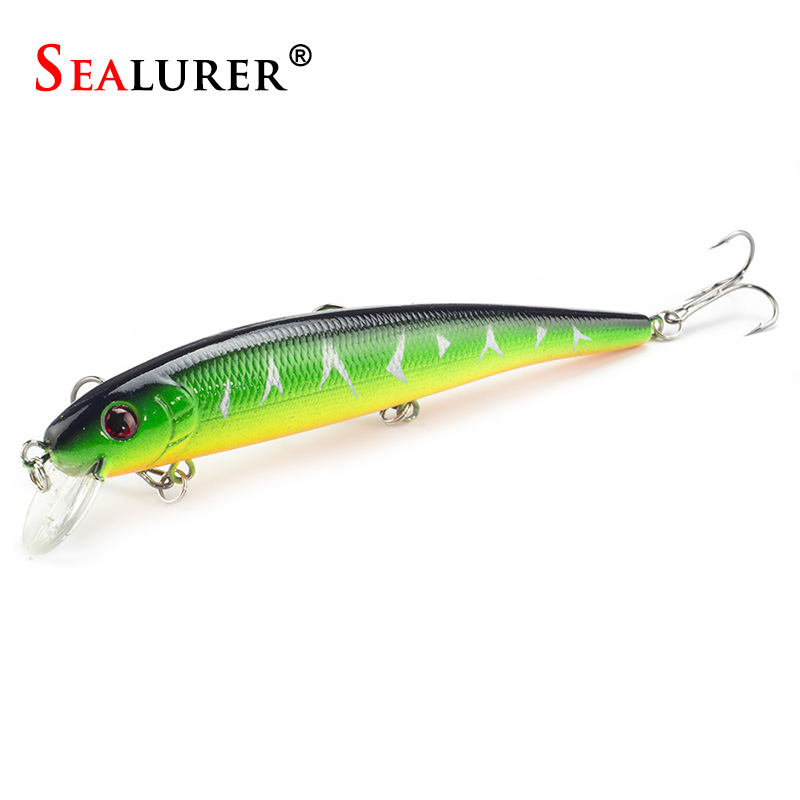 Fishing Minnow Lure Hard Bait 13cm 19g 1pcs/lot Floating Wobbler Plastic Lure Pesca Crankbait Fish Tackle 5 Different Colors wldslure 1pc 54g minnow sea fishing crankbait bass hard bait tuna lures wobbler trolling lure treble hook