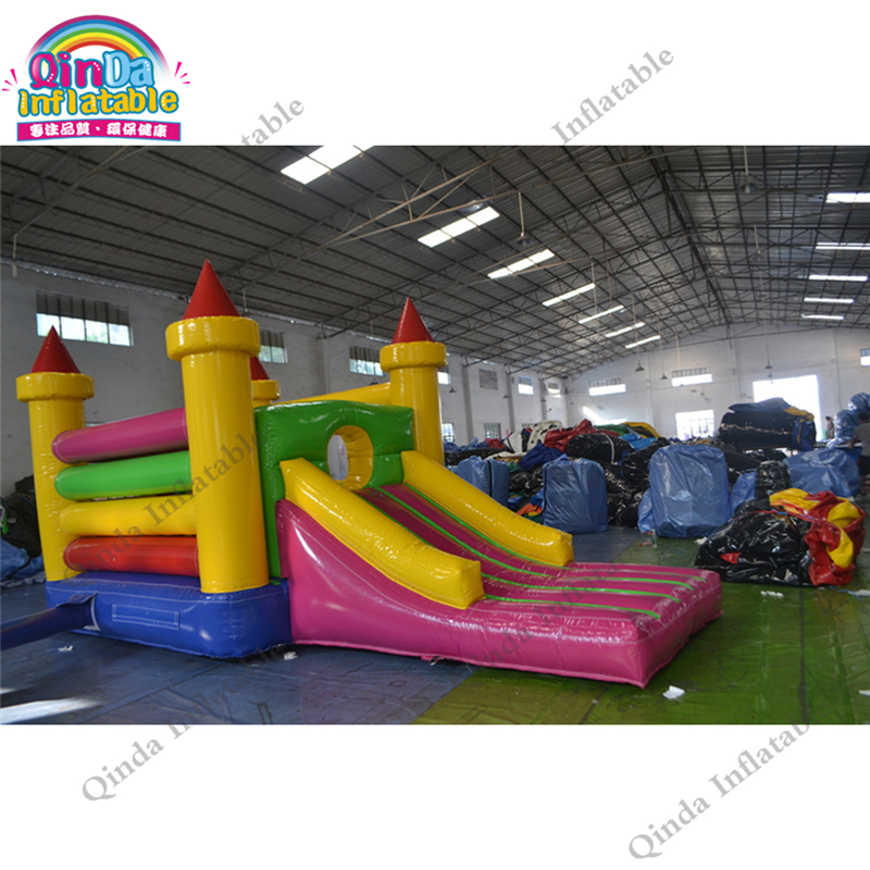 Outdoor Commercial Bounce House Inflatable Bouncy Castle Combo Slide Jump Moonwalk Inflatable Castle for Rental tropical inflatable bounce house pvc tarpaulin material bouncy castle with slide and ball pool inflatbale bouncy castle