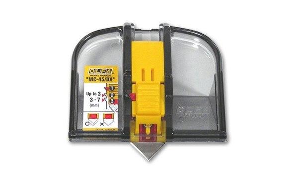 일본 새로운 OLFA MC 45/DX 45도 경사 매트 커터 온다 전용 눈금자-에서재봉 기계 & 액세사리부터 홈 & 가든 의  그룹 2