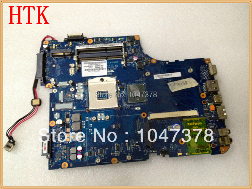 Original A500 HM55 Integrated laptop motherboard for Toshiba LA-5361P K000093550 Fully tested,45 days warranty