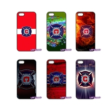 For Samsung Galaxy Note 2 3 4 5 8 S2 S3 S4 S5 MINI S6 S7 edge Active S8 Plus chicago fire logo Flag Banner Cell Phone Case Cover