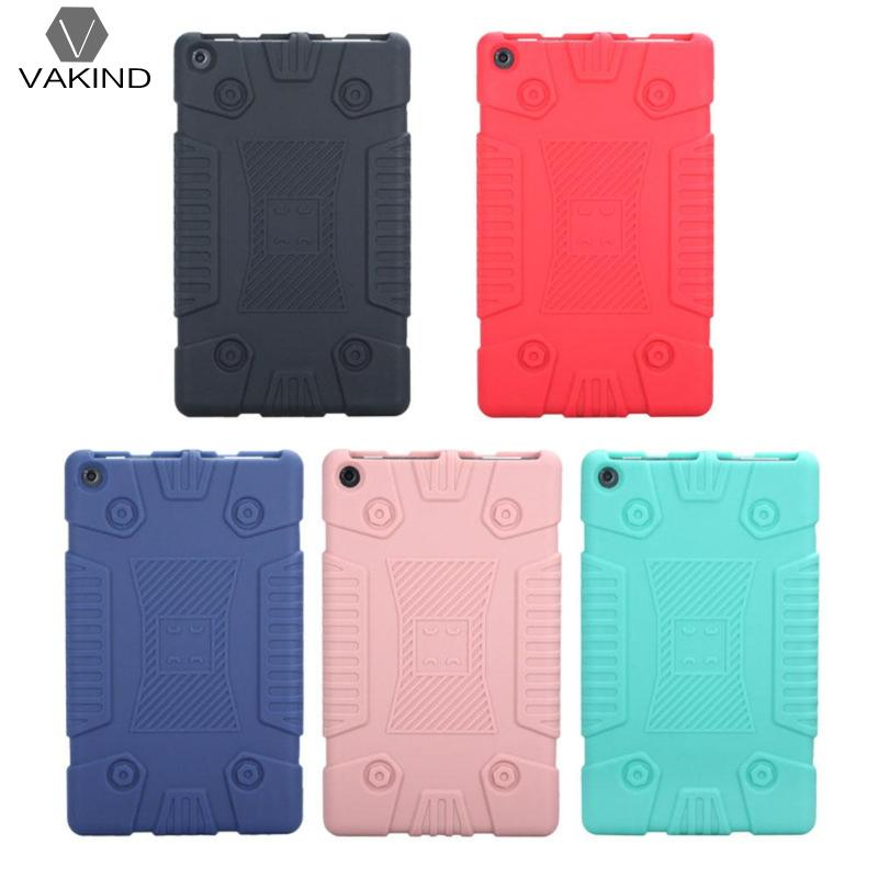 VAKIND Solid Silicone Protective Full Coverage Cover Tablet PC