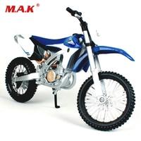 Cheap toys Maisto 1:12 YZ 450F Assemble DIY Motorcycle Bike Model Dirt Bike Toy Kit Moto Kids Toys Collection Gifts