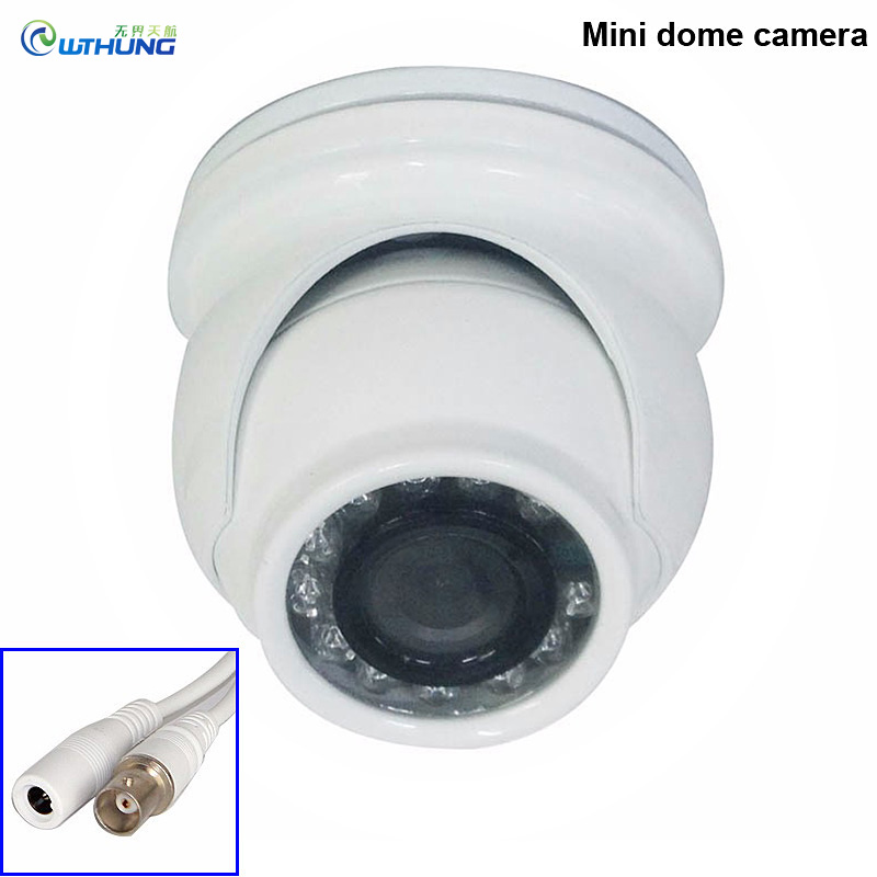 ФОТО New 4 pieces A Bag  Mini Dome AHD CMOS Camera 12Pcs Infrared Leds 720P/960P/1080P indoor/Outdoor Waterproof CCTV Security Camera