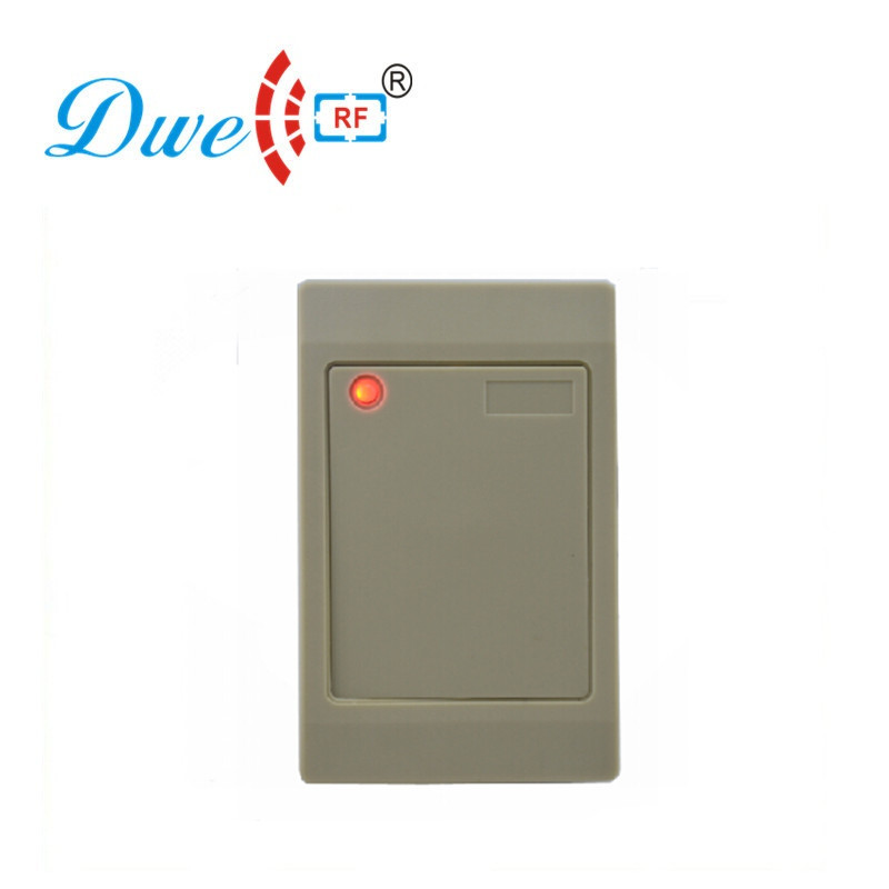 DWE CC RF Factory Price 12V Weigand 26 Waterproof IP65 RFID EM-ID 125khz Proximity Access Control Reader Free Shipping dwe cc rf free shipping 100pcs per lot factory price iso14443a mf access control 13 56mhz pvc cards