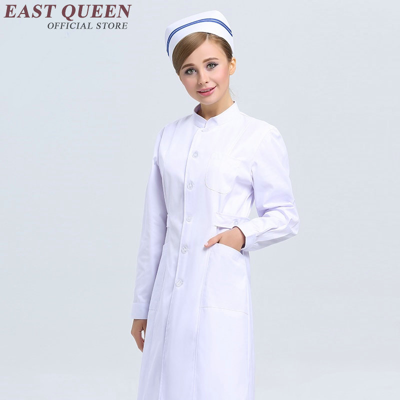 New women nursing scrubs ladies nursing uniforms scrubs white beautiful nurse uniform designs hospital uniform women AA350 Подушка