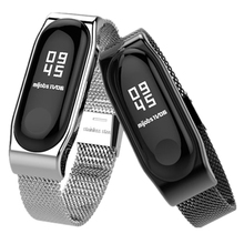 Bracelet Mi Band 2 Strap Metal Screwless Stainless Steel Bracelet Wristbands miband 2 Replace Accessories For Xiaomi Mi Band 2 mijobs mi band 2 strap metal bracelet screwless stainless steel bracelet wristbands replace accessories for xiaomi mi band 2