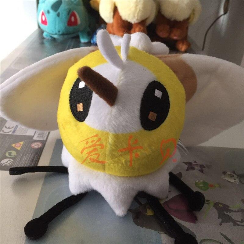 Nouveau Anime PokOe Aller Pikachu CutieflyH 14 cm Peluche Soleil Lune Démarreur Poupée Animaux pour Enfants Jouet de haute Qualité
