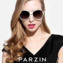 a9a7bac02 PARZIN ÓCULOS De Sol Das Mulheres Designer De Marca Polarizada Grande  Quadro Óculos de Sol Para Senhoras Das Mulheres Do Vintage.