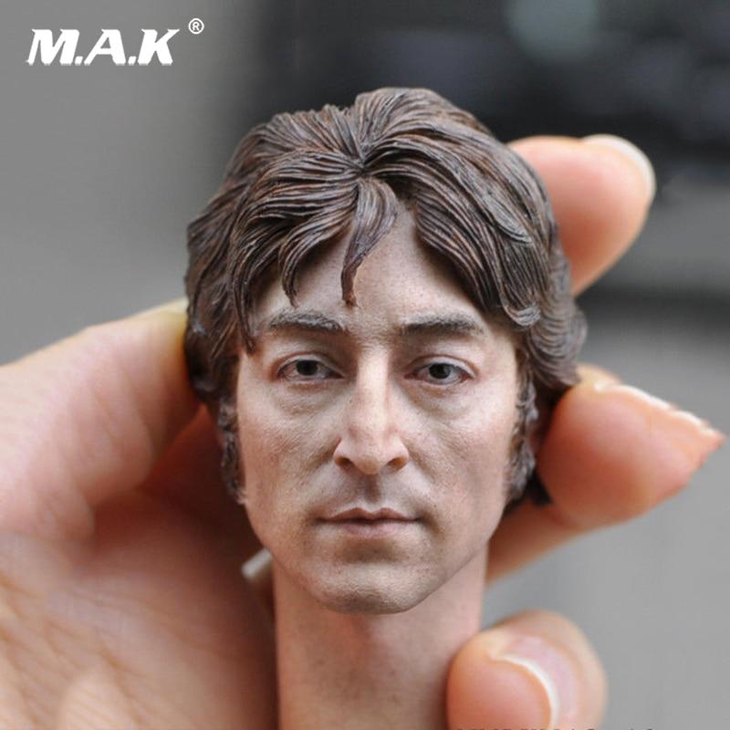 1/6 Head Sculpt KM18-10 1/6 Europe Man Head Male Figure Head John Lennon's Headplay 12 Action Figure Collection Toys Gift цена