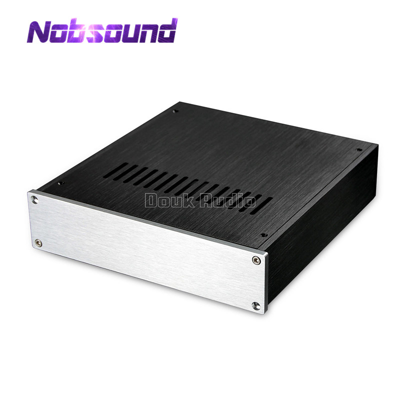 Nobsound Aluminium Pre Amp Case Amplifier Chassis DAC Cabinet HiFi Enclosure