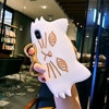 Cat Silicone Back Cover iPhone Xs