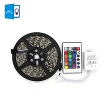 [DBF] 5050 LED Strip 5M Ribbon 300Led SMD Led Tape RGB White Warm White Yellow Red Green Blue Flexible LED Light 12V