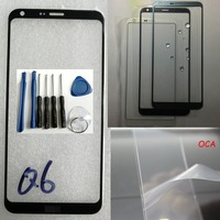 Shyueda 100% New + OCA Tools For LG Q6 Q6 Q6a M700N M700A M700AN M700DSK X600   Outer Front Screen Glass Lens Replacement